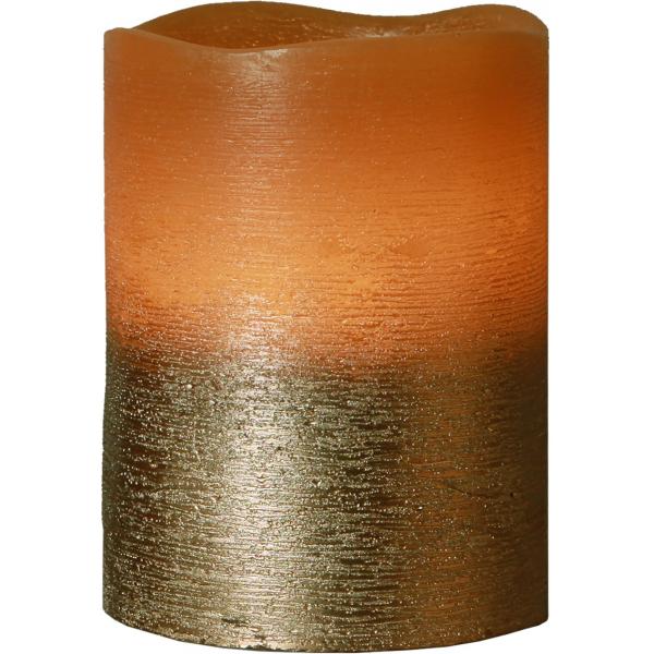 Свеча COPPER, 10 см, таймер, бронзовый воск