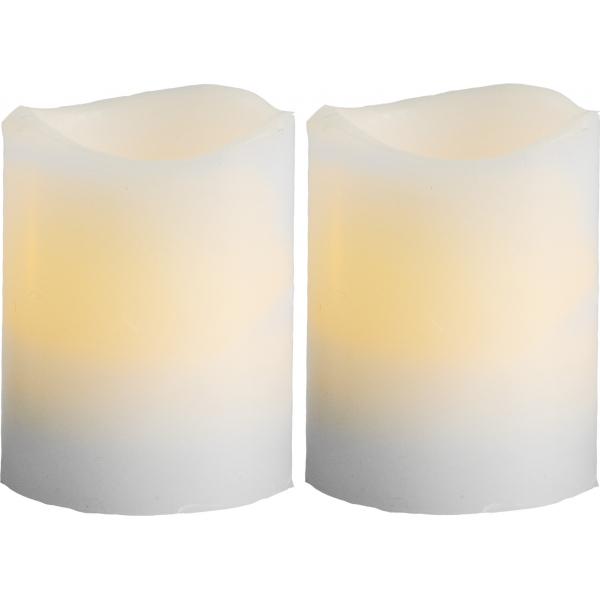 Комплект  свечей,  2 шт., белый воск