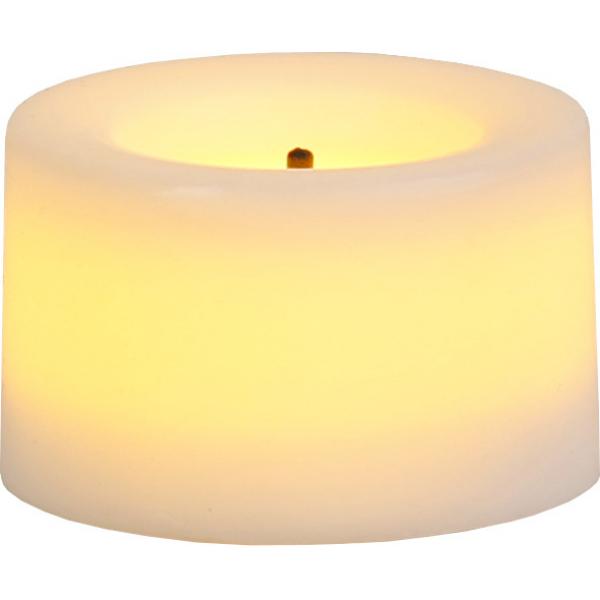 Свеча, 2 шт., 2,5 см, белый воск
