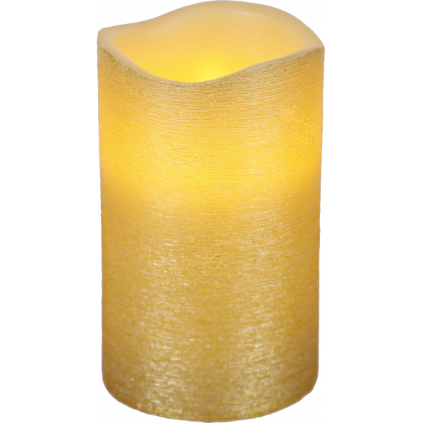 Свеча LINDA, 12,5 см, таймер, желтый воск
