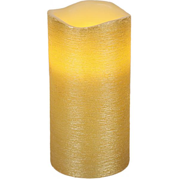 Свеча LINDA, 15 см, таймер, желтый воск