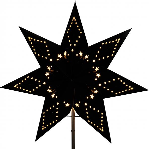 Звезда на подставке KATABO, 34 см, черный