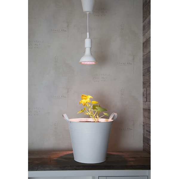 Лампа для подсветки растений 230 V (Вольт), 13 W (Ватт), патрон Е27, розовый свет