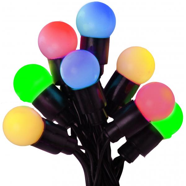 Гирлянда для улицы PARTY, 6,9 м, разноцветная