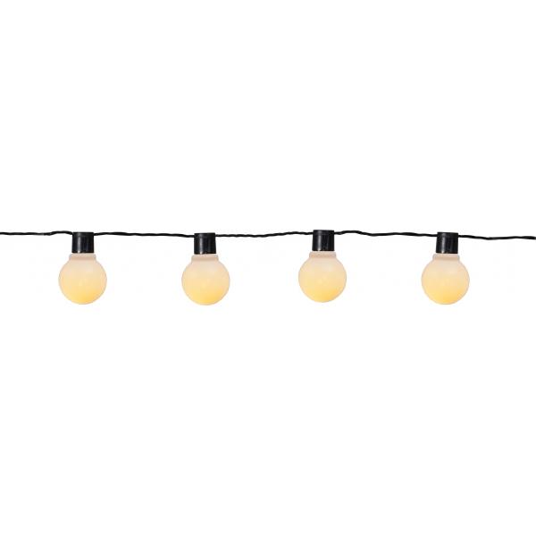 Гирлянда для улицы PARTAJ, 16 ламп, 9,5 м, теплый белый