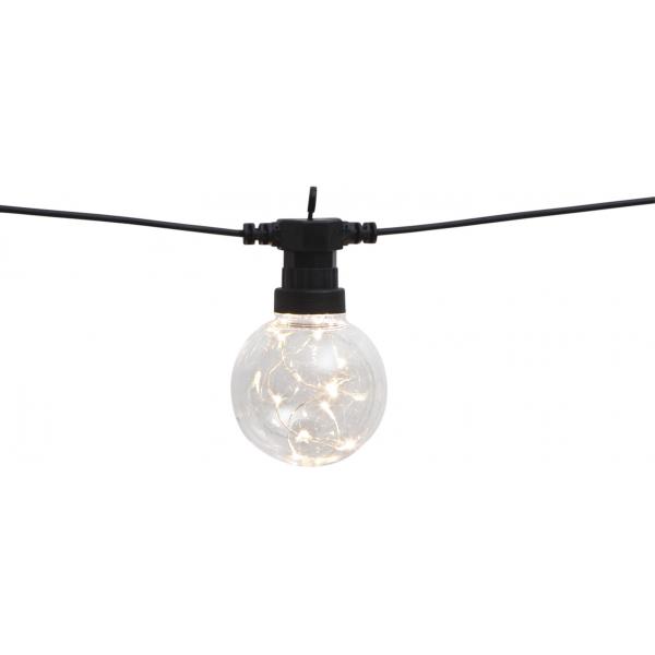 Гирлянда для улицы BIG CIRCUS, 10 ламп, 4,5 м, теплый белый