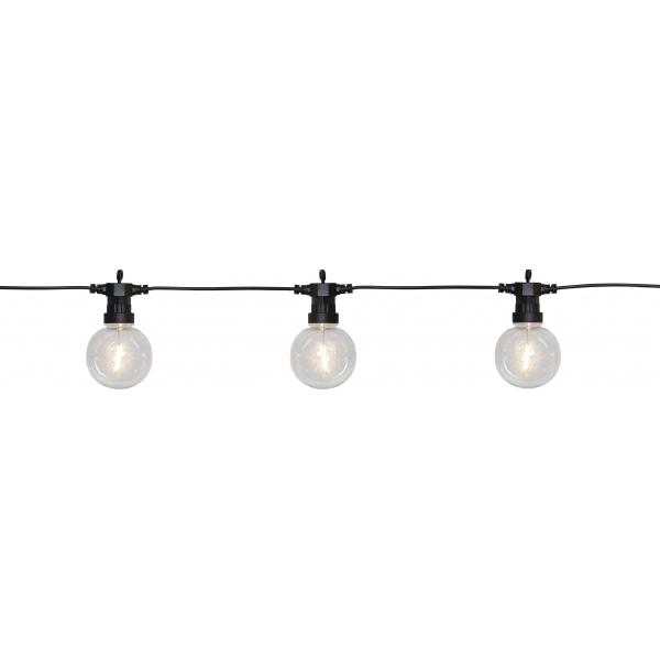 Гирлянда для улицы BIG CIRCUS FILAMENT, 10 ламп, длина 4,5 м, теплый белый