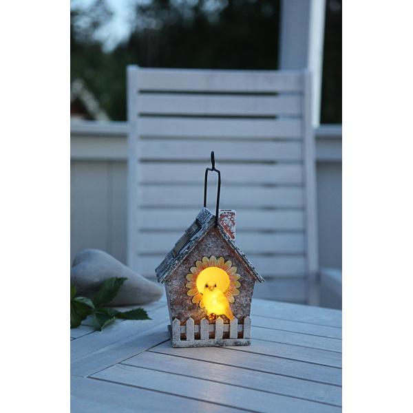 Садовый светильник BIRDIE Solar energy, 16 см