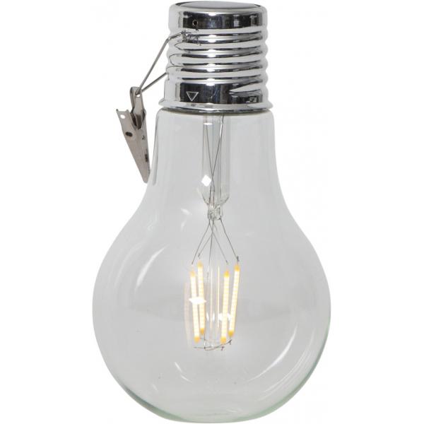 """Садовый светильник FILLE Solar energy """"два в одном"""", 18 см"""