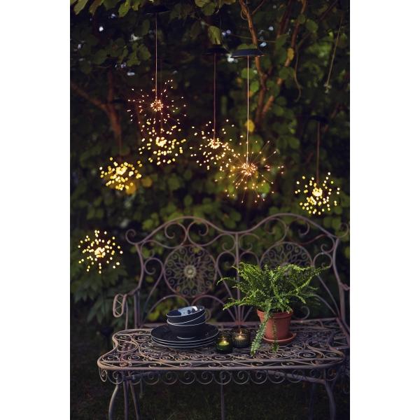 Садовый светильник FIREWORK Solar energy, 105 см