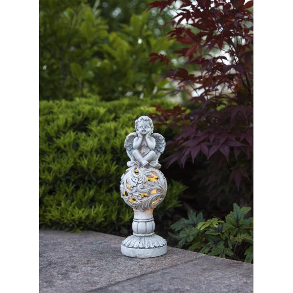 Садовый светильник ANGEL Solar energy, 27 см