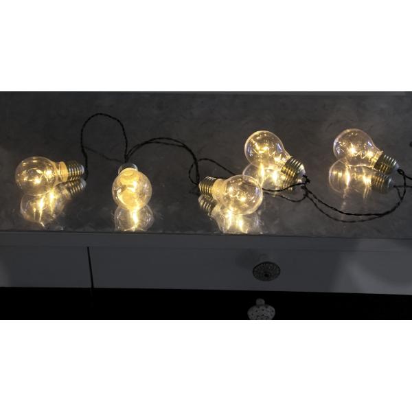 Гирлянда на батарейках GLOW 5-LIGHT, желтый