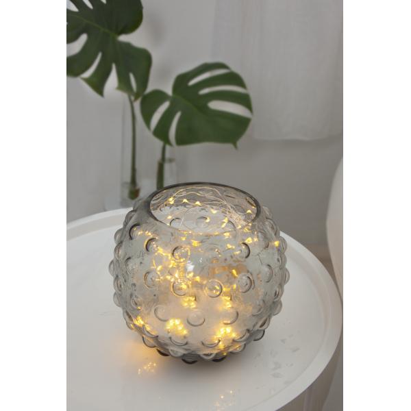 Гирлянда BUNDLE DEW DROP, 80 LED ламп, 10 шт х 80 см, теплый белый