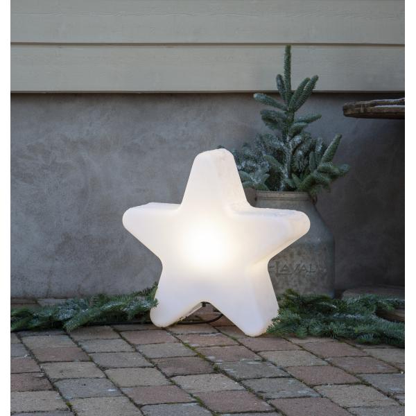 Светильник светящаяся звезда GARDENLIGHT для улицы, 46 см