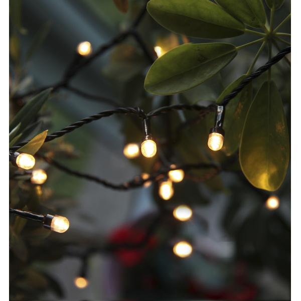 Гирлянда для улицы CHERRY, 40 ламп, 9,0 м, 8 режимов мигания, теплый белый