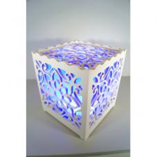 Светильник интерьерный ЛОТОС, 17 см, синий