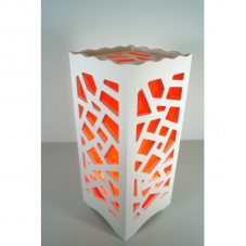 Светильник интерьерный МОЗАЙКА, 23 см, красный