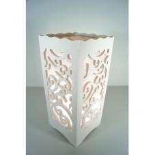 Светильник интерьерный АЖУР, 23 см, теплый белый