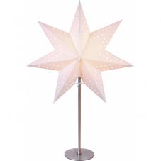Звезда на подставке BOBO, 51 см, белый