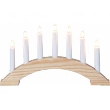Горка рождественская BEA, 7 свечей, 22 см, сосна
