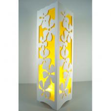 Светильник интерьерный НЕЗАБУДКИ, 34 см, желтый