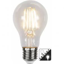 Лампа SENSOR  универсальная сенсорная 4,2 W (Ватта), патрон Е27 LED, прозрачный, теплый белый