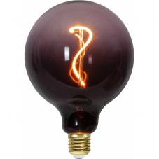 Лампа COLOURMIX Е27 LED, 125 мм, розовый, теплый белый