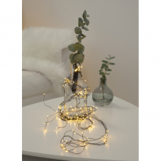 Гирлянда DEW DROP, 125 LED ламп, 10 нитей, 140 см, теплый белый