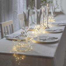 Гирлянда CRAB DEW DROP, 720 LED ламп, 720 см, дневной белый,  серебряный провод