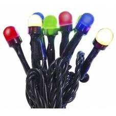Гирлянда для улицы CHERRY, 40 ламп, 4,5 м, разноцветный