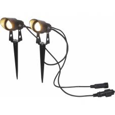 Гирлянда-прожекторы SPOTLIGHT, высота 8 см, 2 шт, серия SYSTEM 24