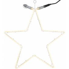 Звезда-расширение FLAT NEON LED, 60 см, 120 LED ламп, теплый белый, серия SYSTEM 24