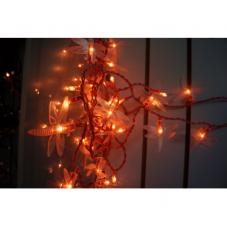 Гирлянда MICRO TREND, 50 ламп, розовая