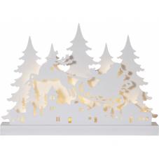 Светильник рождественский GRANDY, 30 см, белый