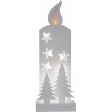 Светильник рождественский GRANDY, 36 см, белый