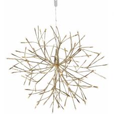 Светильник-подвес FIREWORK, 50 см, золотой