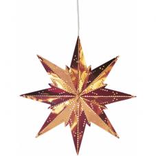 Звезда-подвес METAL STAR MINI, 25 см, медный