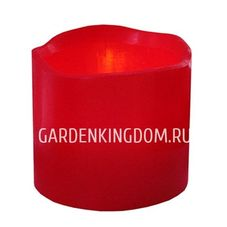 Свеча, 7 см, таймер, красный воск