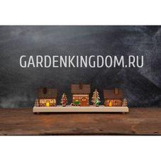 Светильник рождественский REGENSBURG, 14.5 см, разноцветный