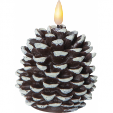 Свеча с 3D пламенем FLAMME CONE, высота 10,5 см, ширина 8 см, таймер