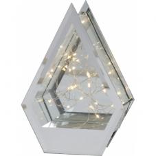Светильник декоративный PENTACONE светодиодный LED на батарейках с таймером, 19,5 см