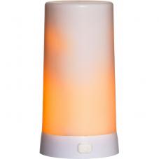 Дополнительная свеча DINER, высота 13 см, ширина 6,8 см, пластик, белый