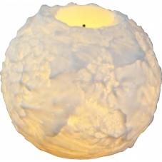 Свеча SNOWTA, 7.5 см,  белый