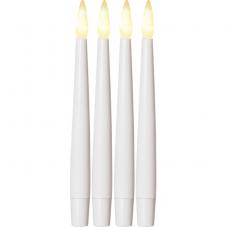 Комплект свечей PAULINA, 15,5 см, 4 шт., пластик