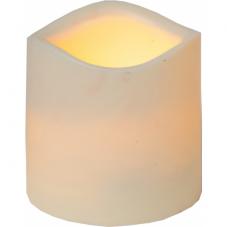 Свеча пластиковая,  7,5 см, бежевый