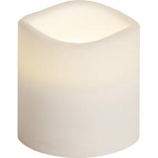 Свеча пластиковая, 7,5 см, белая