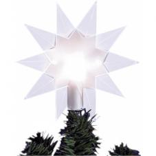 Звезда - макушка TOPSTY , 14 см, пластик, белый