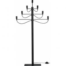 Светильник MILANO, высота 120 см, ширина 60 см, черный