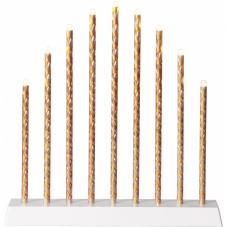 Светильник TRIX-BATTERY, 28 см, на батарейках, золотой