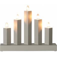 Светильник RAK, 23 см, серый